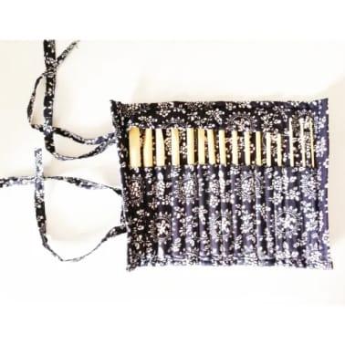 16 Pices En Bambou, Crochets De 15cm/ 6 Pouces Avec Botier (2mm -[6/7]
