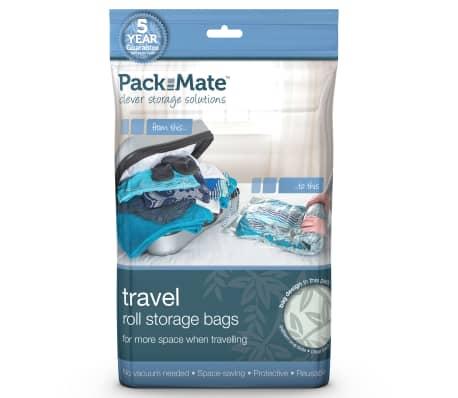 Packmate Juego 4 bolsas almacenamiento al vacío azul PAC002