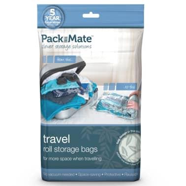 Packmate Juego 4 bolsas almacenamiento al vacío azul PAC002[3/3]