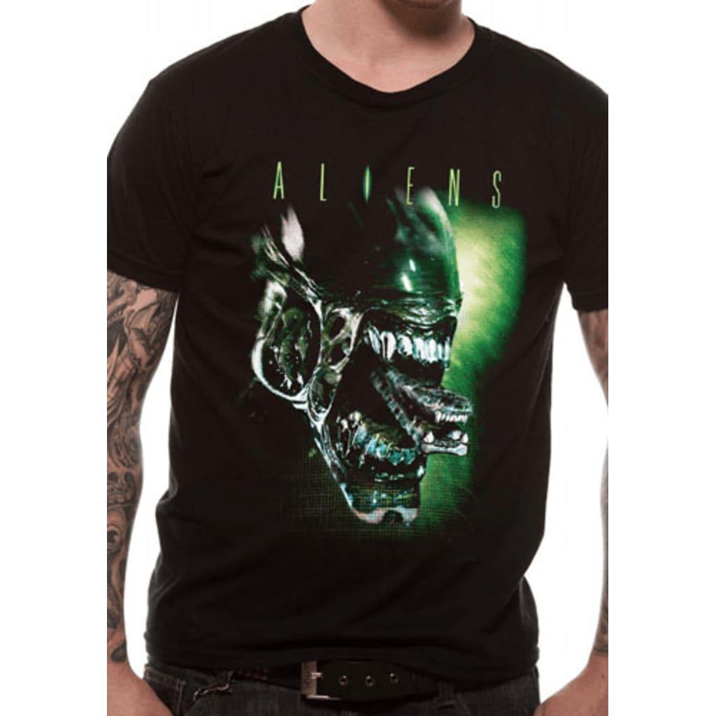 Afbeelding van Alien HEAD (UNISEX)T Shirt