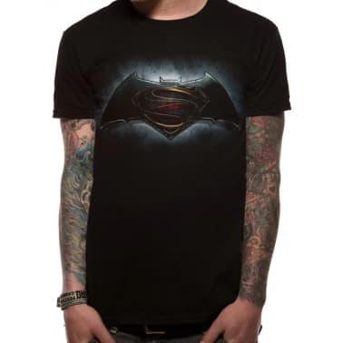 Batman Vs Superman Logo T Shirt Unisex Vidaxl