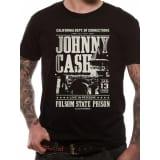 Johnny Cash - Dept Of Corrections T-Shirt