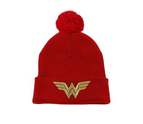 Wonder Woman - 3D Gold  gorrita tejida