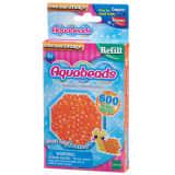 Aquabeads : Recharge de 600 perles à facettes orange