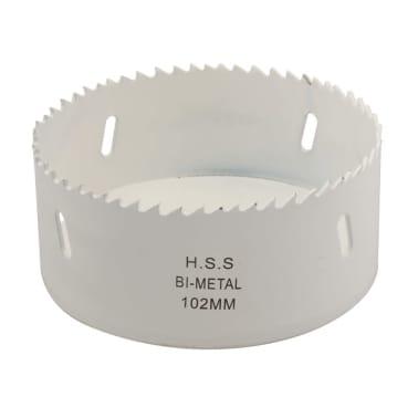 trépan hss bimétal d. 102 mm pour bois / plâtre / acier lu 38 mm[1/1]