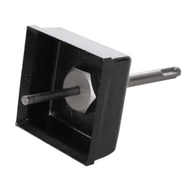 trépan à maçonnerie avec cloche carrée 77 x 77 mm[1/2]
