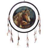 Attrape Rêve Chevaux Apache par Lisa Parker 62 cm