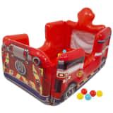 Sambro Feuerwehrauto Bällebad mit 20 Bällen Paw Patrol Rot PWP-7069