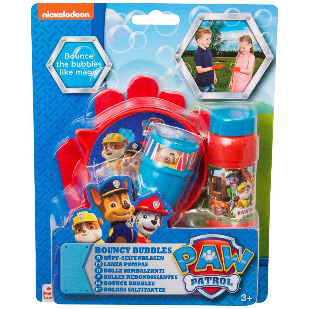Paw Patrol Bouncing Bubbles + Glove