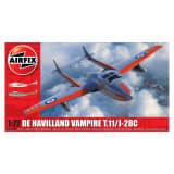 Maquette avion : De Havilland Vampire T.11 / J-28C