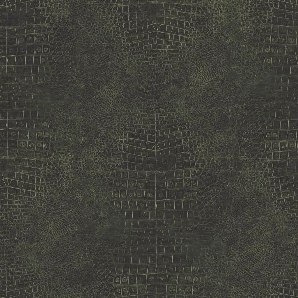 Noordwand Tapet Croco, verde imagine vidaxl.ro