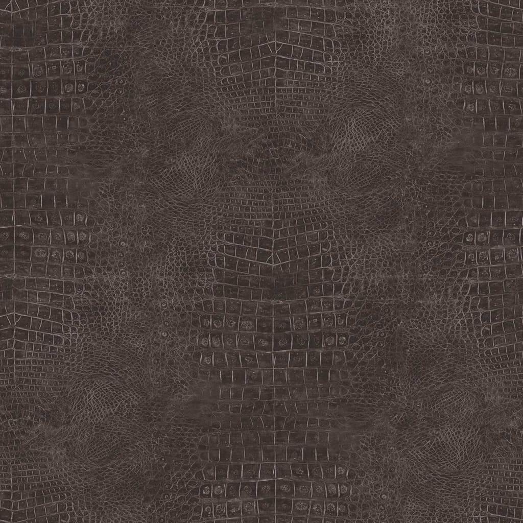 Noordwand Tapet Croco, negru vidaxl.ro