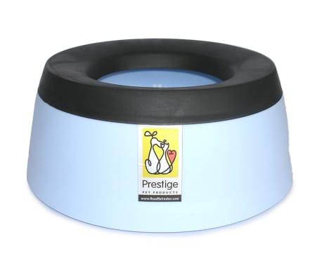 Road Refresher Bol d'eau anti-débordement pour animaux Petit bleu SBRR
