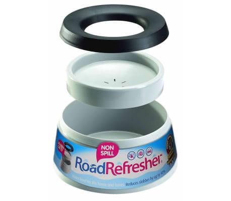 Road Refresher Bol d'eau anti-débordement pour animaux Petit Gris SGRR[3/4]