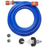 aquaroll Adaptador de suministro de agua azul 7,5 m