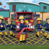 Walltastic Fototapete Fireman Sam New 43770