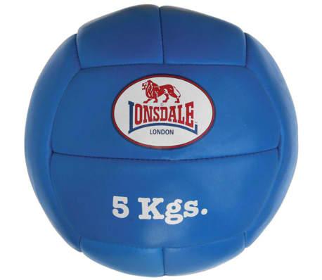 LONSDALE Medicijnbal 5 kg leer blauw