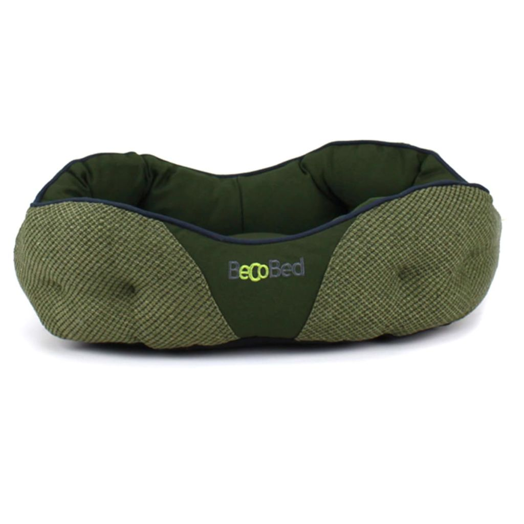 Afbeelding van Beco Pets Hondenmand BecoBed groen 46x37x13 cm maat XS 1567