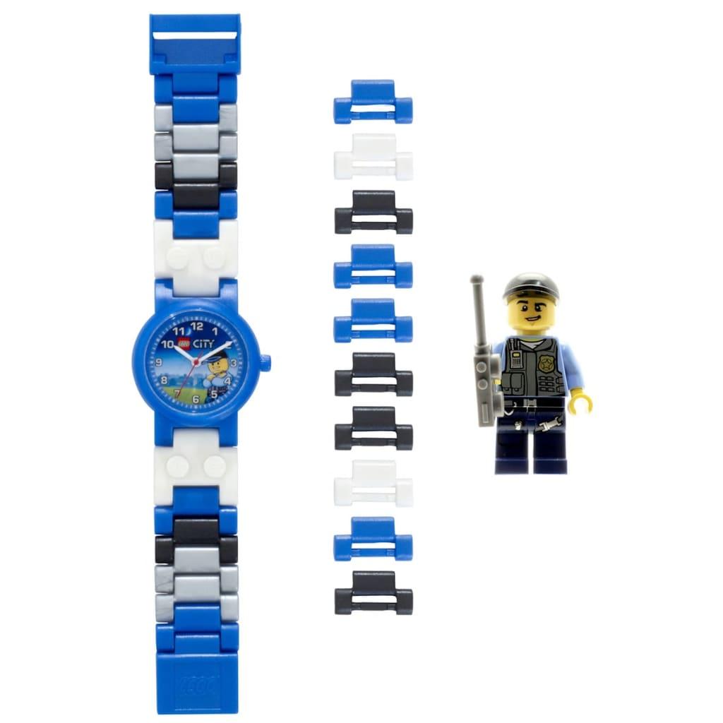 Afbeelding van LEGO CiTY Schakelhorloge politie kunststof 8020028