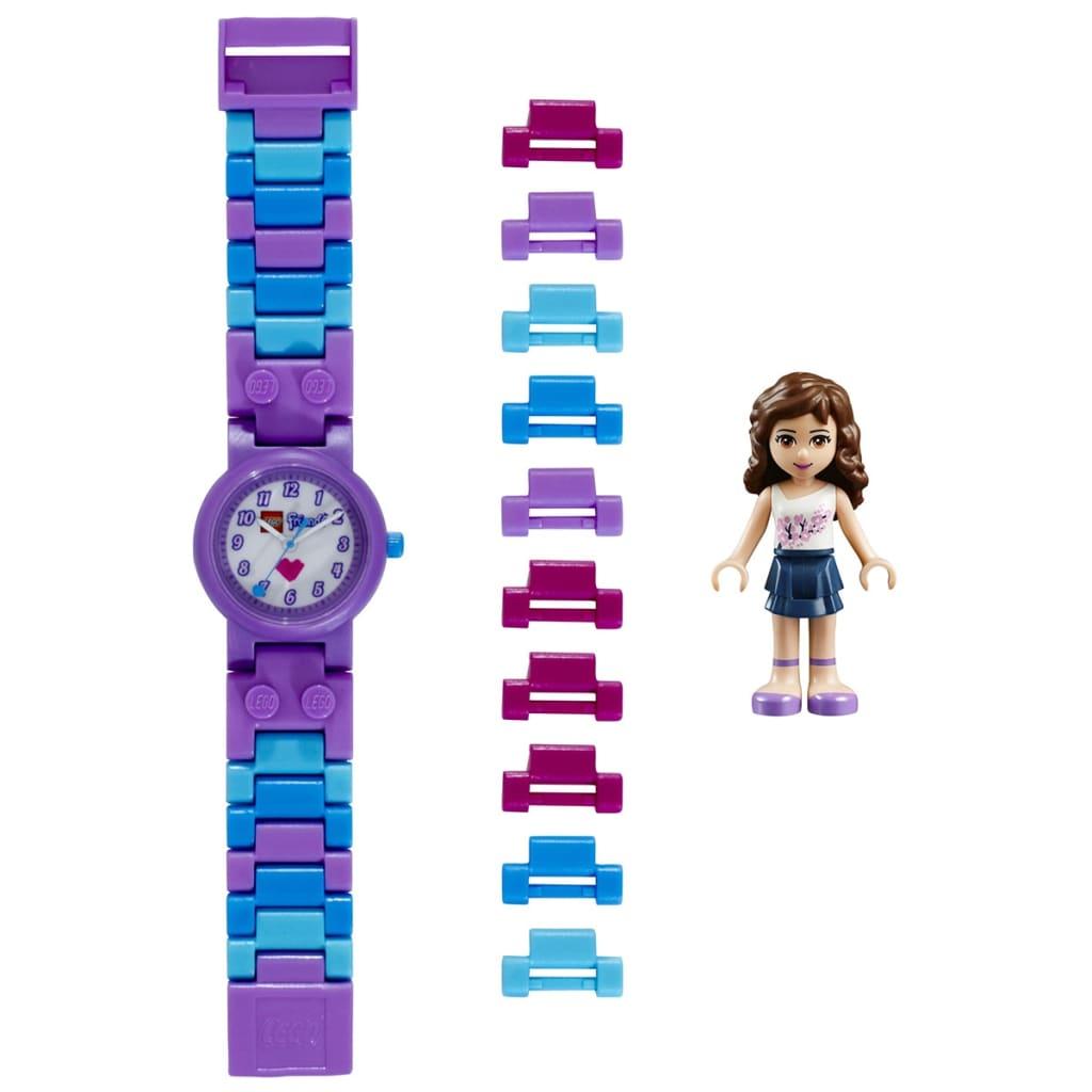 Afbeelding van LEGO Friends Schakelhorloge Olivia kunststof 8020165