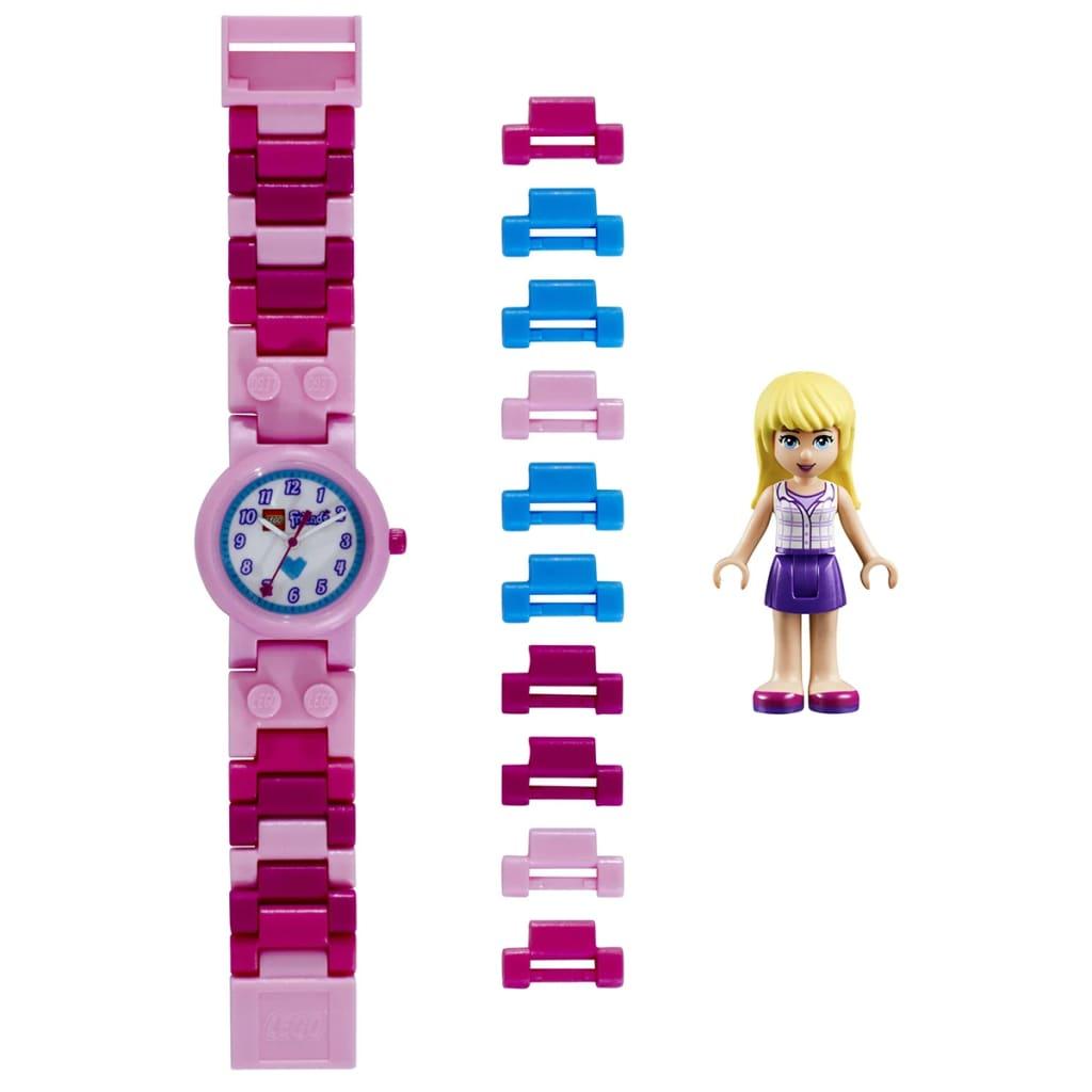Afbeelding van LEGO Friends Schakelhorloge Stephanie kunststof 8020172