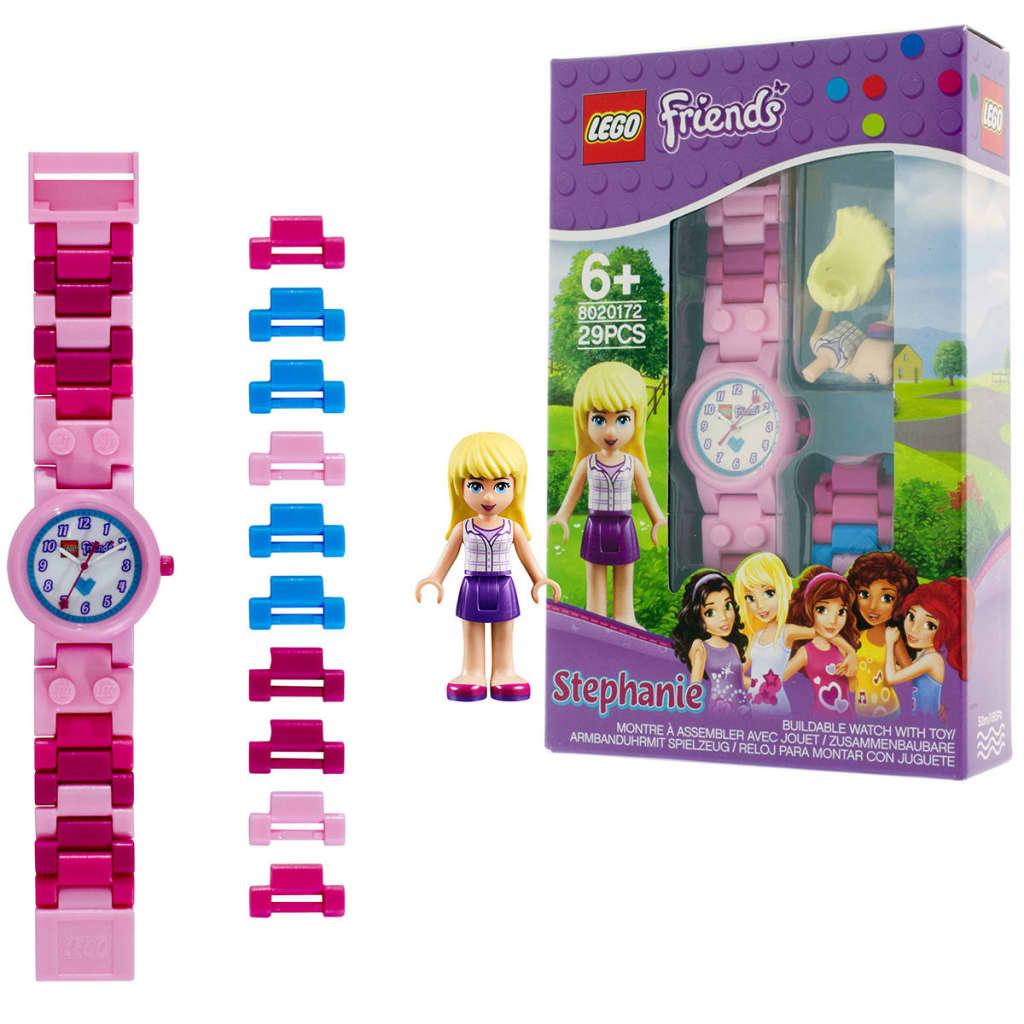 99412071 LEGO Friends Glieder-Armbanduhr Stephanie Kunststoff 8020172