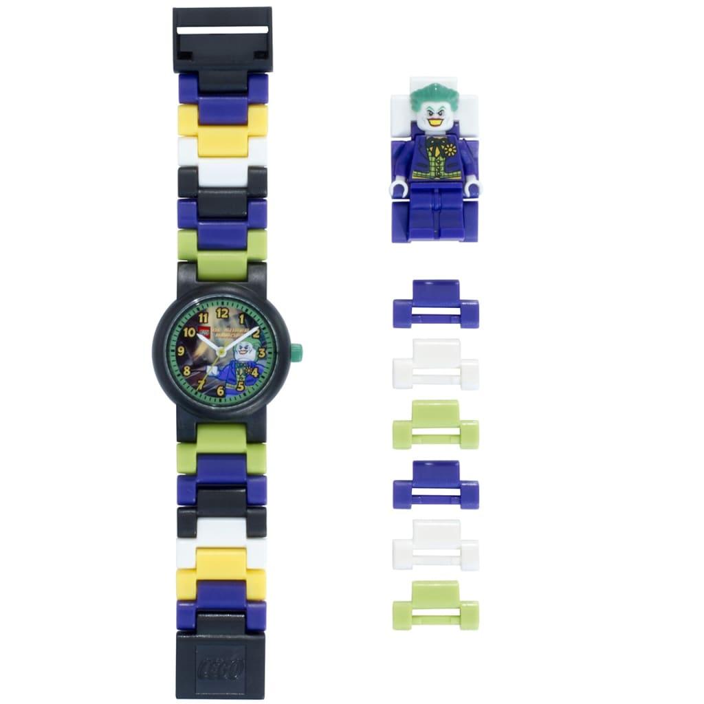 Afbeelding van LEGO Heroes Schakelhorloge Joker Plastic 8020240