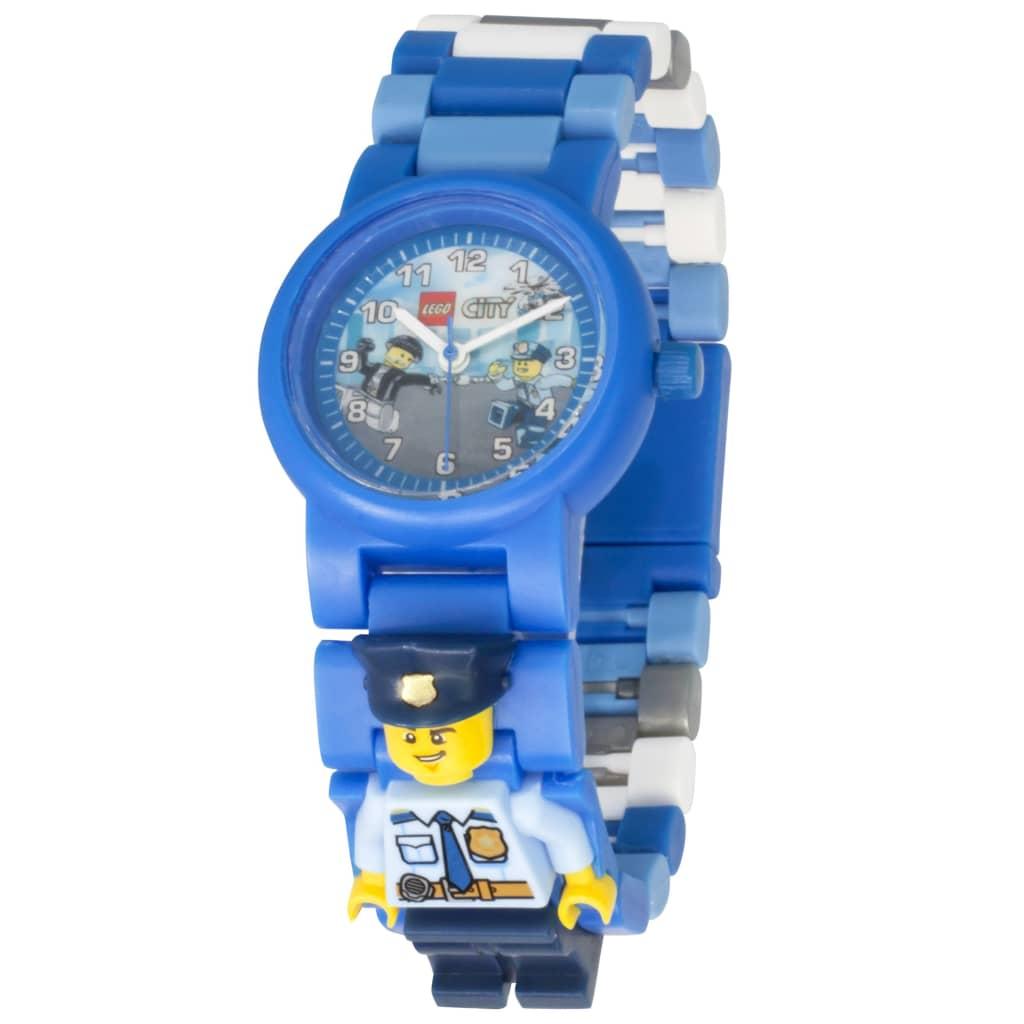 Afbeelding van LEGO City horloge - politie