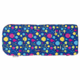 CuddleCo Funda silla de paseo de espuma viscoelástica Comfi-Cush azul