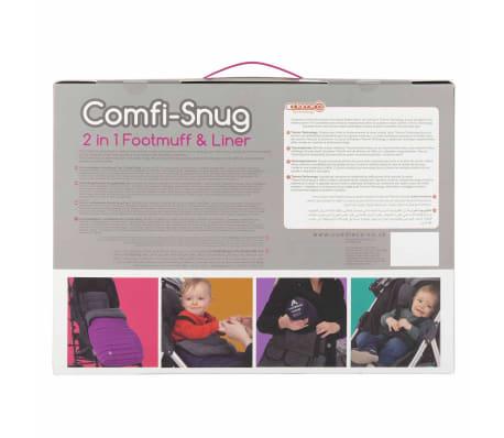 CuddleCo Voetenzak en voering Comfi-Snug 2-in-1 zwart[13/14]