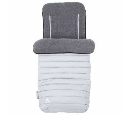 CuddleCo Śpiworek i wkładka do wózka Comfi-Snug, 2-w-1, szary
