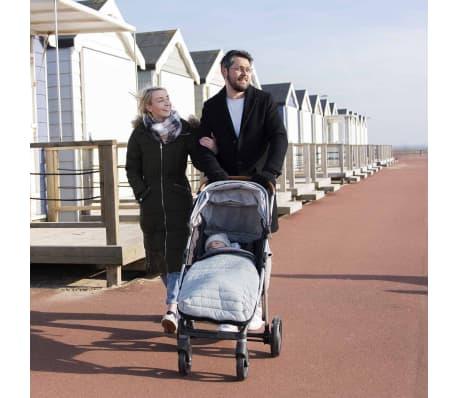 CuddleCo Voetenzak en voering 2-in-1 Comfi-Snug grijs[12/19]