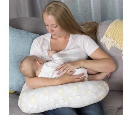 CuddleCo Coj/ín de Lactancia para Beb/é Espuma Viscoel/ástica Comfi Mum Blanco