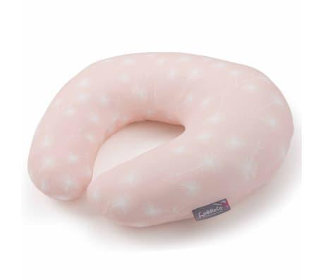 CuddleCo Oreiller d'allaitement Mousse à mémoire Comfi Mum Rose[2/10]
