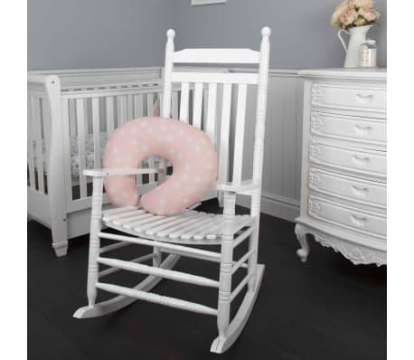 CuddleCo Oreiller d'allaitement Mousse à mémoire Comfi Mum Rose[1/10]