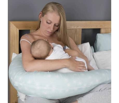 CuddleCo Oreiller d'allaitement Mousse à mémoire Comfi Mum Vert[3/13]