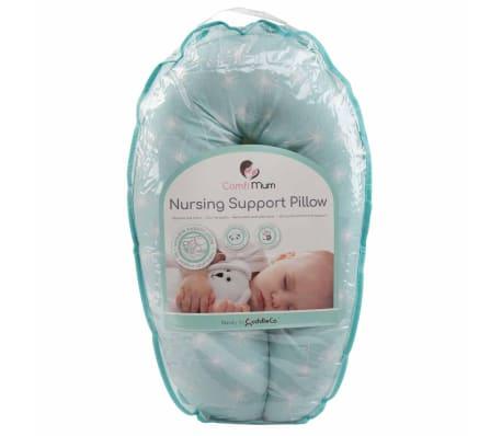 CuddleCo Oreiller d'allaitement Mousse à mémoire Comfi Mum Vert[13/13]