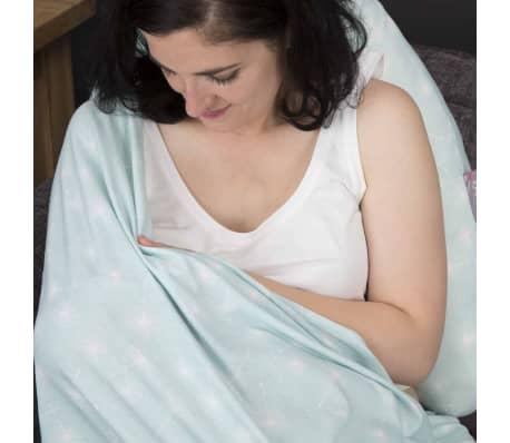 CuddleCo Écharpe d'allaitement 2-en-1 Comfi Love Infinity Vert[10/11]