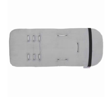 CuddleCo Wkładka do wózka spacerowego Comfi-Cush, pianka memory, biała[2/6]