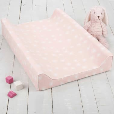 CuddleCo Matelas à langer en bambou de luxe Comfi-Love Rose[2/8]