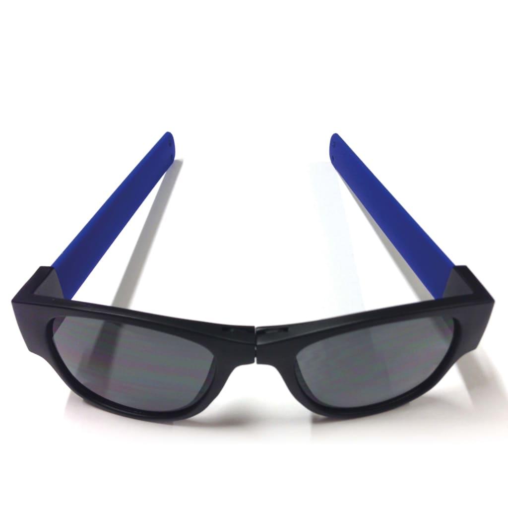 Afbeelding van Clix Zonnebril inklapbaar blauw CLI001