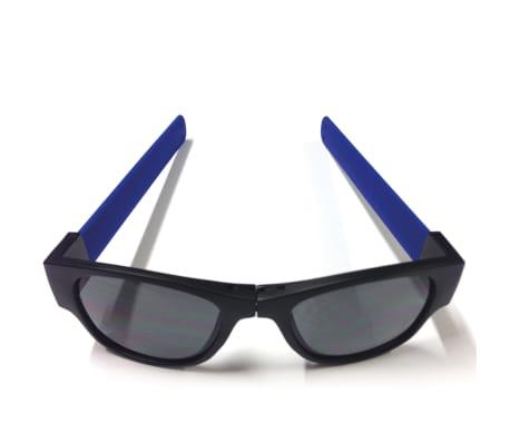 Clix Hopfällbara solglasögon blå CLI001