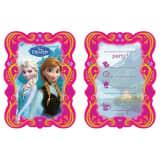 Disney Invitations congelés 6 Pièces