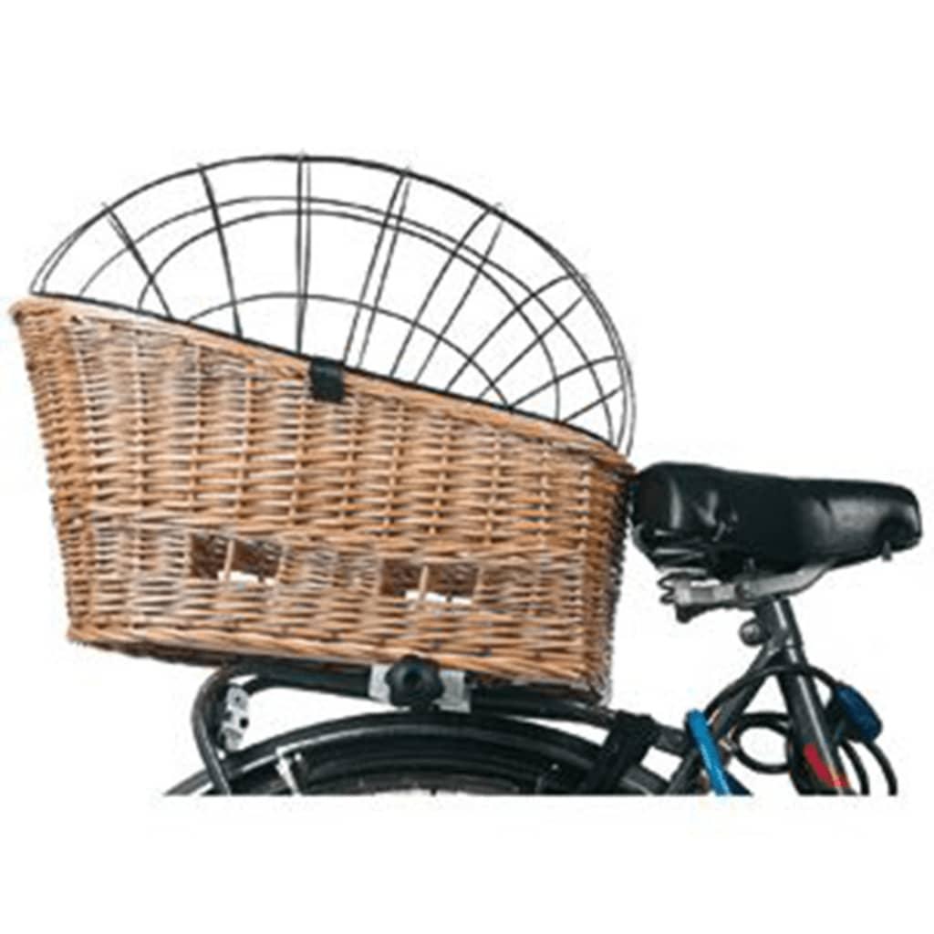 FLAMINGO Honden fietsmand wilgen 55x35x44 cm 502666