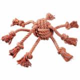 FLAMINGO Žaislas šunims Octopus, oranžinis, 44995