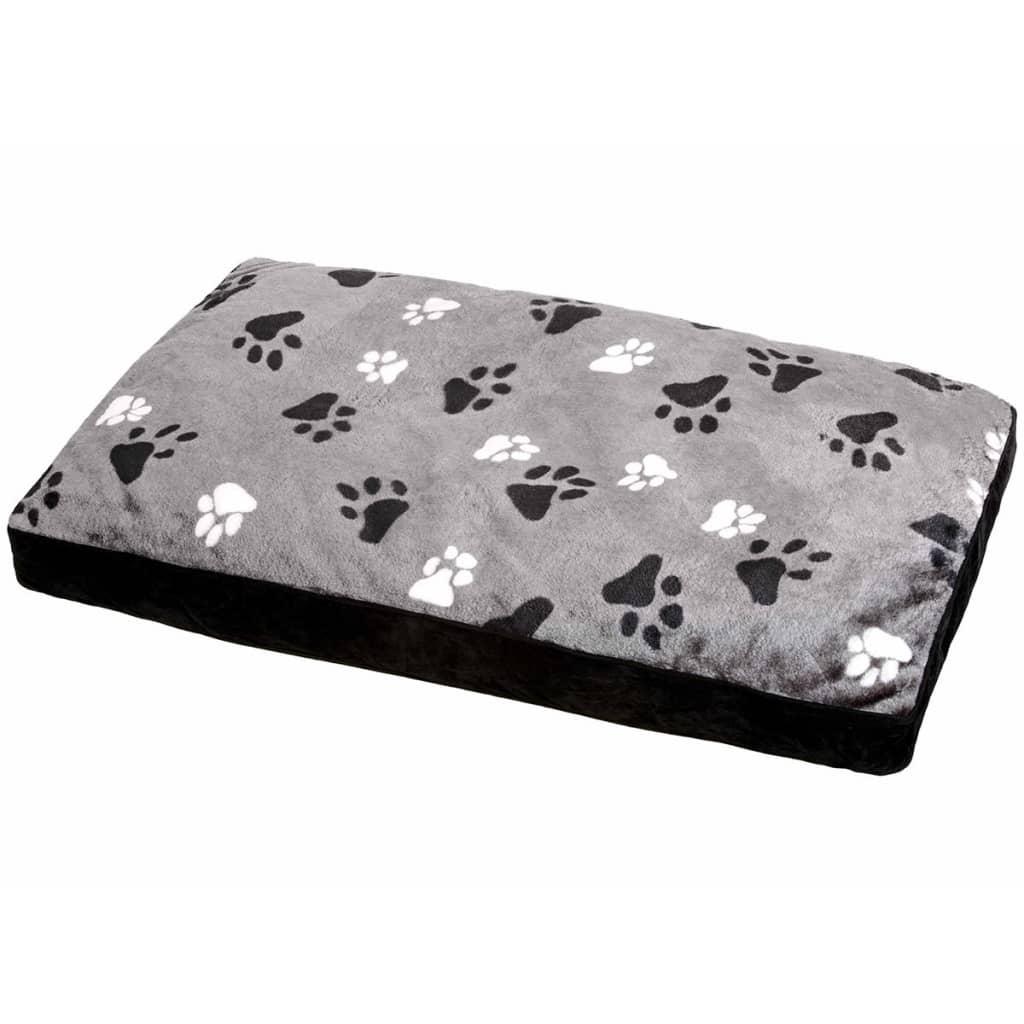 FLAMINGO Pernă pentru câini Track, gri, 100 x 65 x 12 cm, 60044 vidaxl.ro