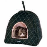 FLAMINGO Grotte pour chats Super Deluxe 40 x 40 x 50 cm Noir 62470