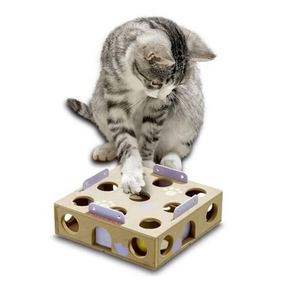 FLAMINGO Speeldoos Smart Cat 22x22x6 cm 47742