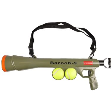 FLAMINGO Hunde Ballschleuder Ball-Pistole BazooK-9 mit 2 Bällen 517029[2/2]