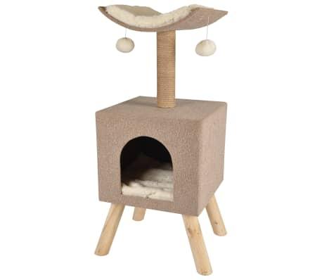 FLAMINGO Arbre à gratter pour chat Scandi Beige 43,5x40x54,5 cm 560554